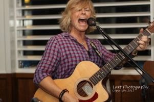 Susan Carson performing at TruNorth Tavern, Bridgeport, CT. 9.6.2017. Photo credit Donna Lattarulo
