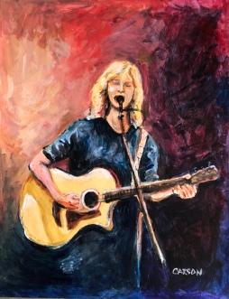 MY SONG. Acrylic on Bristol, 17x14in. $375