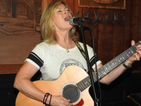 Live at Horse Shoe Cafe3 - by Judith Byman